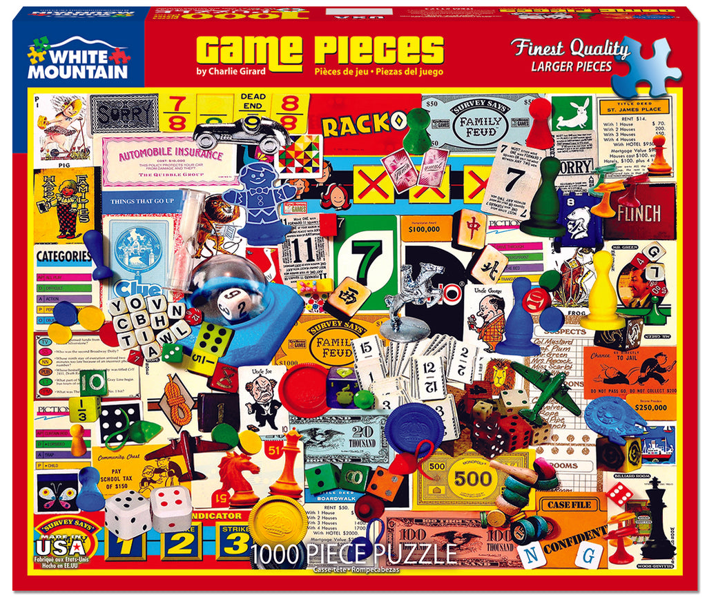 Game Pieces - DISCONTINUED