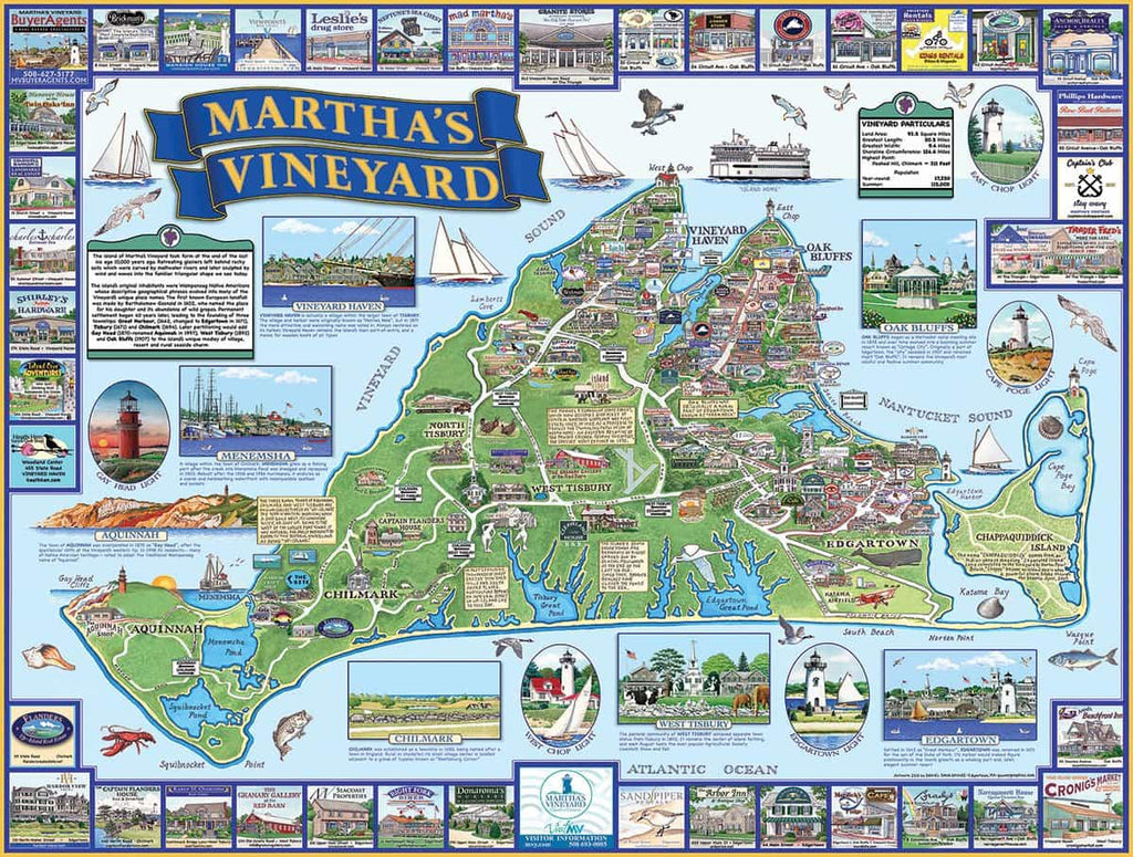 Martha's Vineyard (1181pz) - 1000 Piece Jigsaw Puzzle