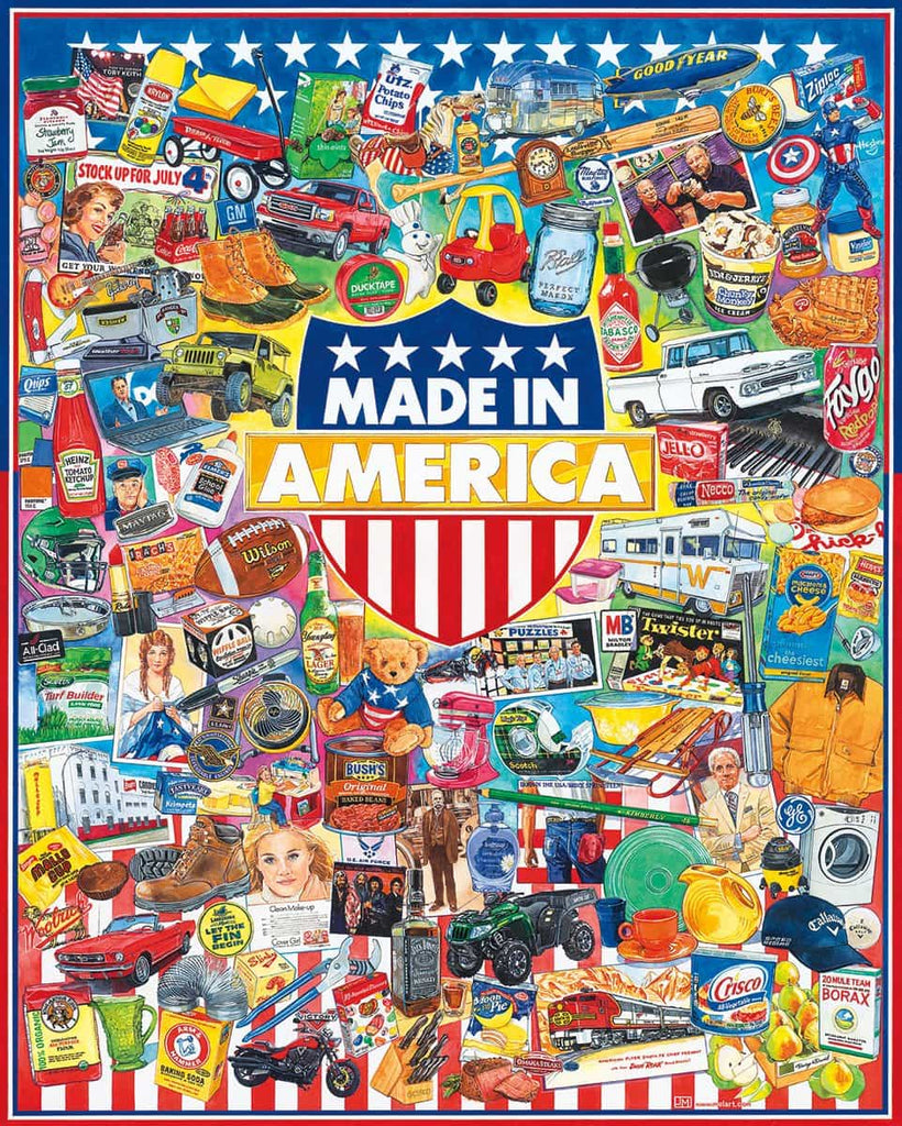 Made In America (1183pz) - 1000 Piece Jigsaw Puzzle