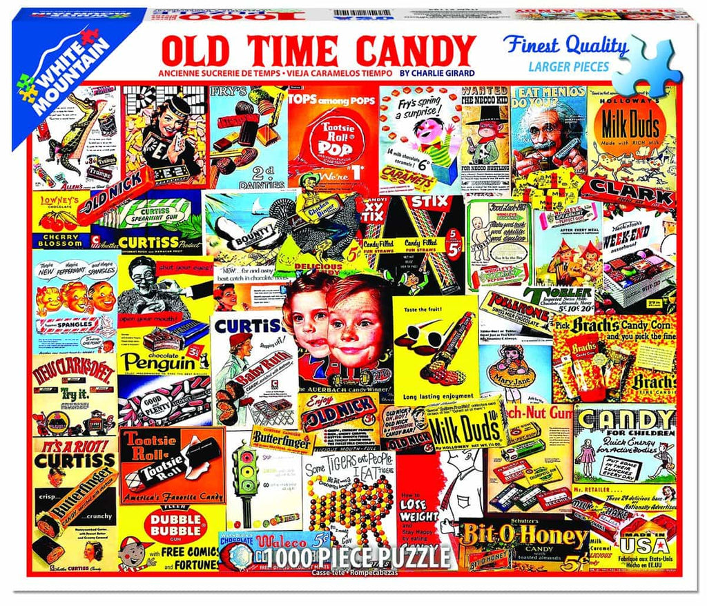 Old Time Candy - 1000 Pieces