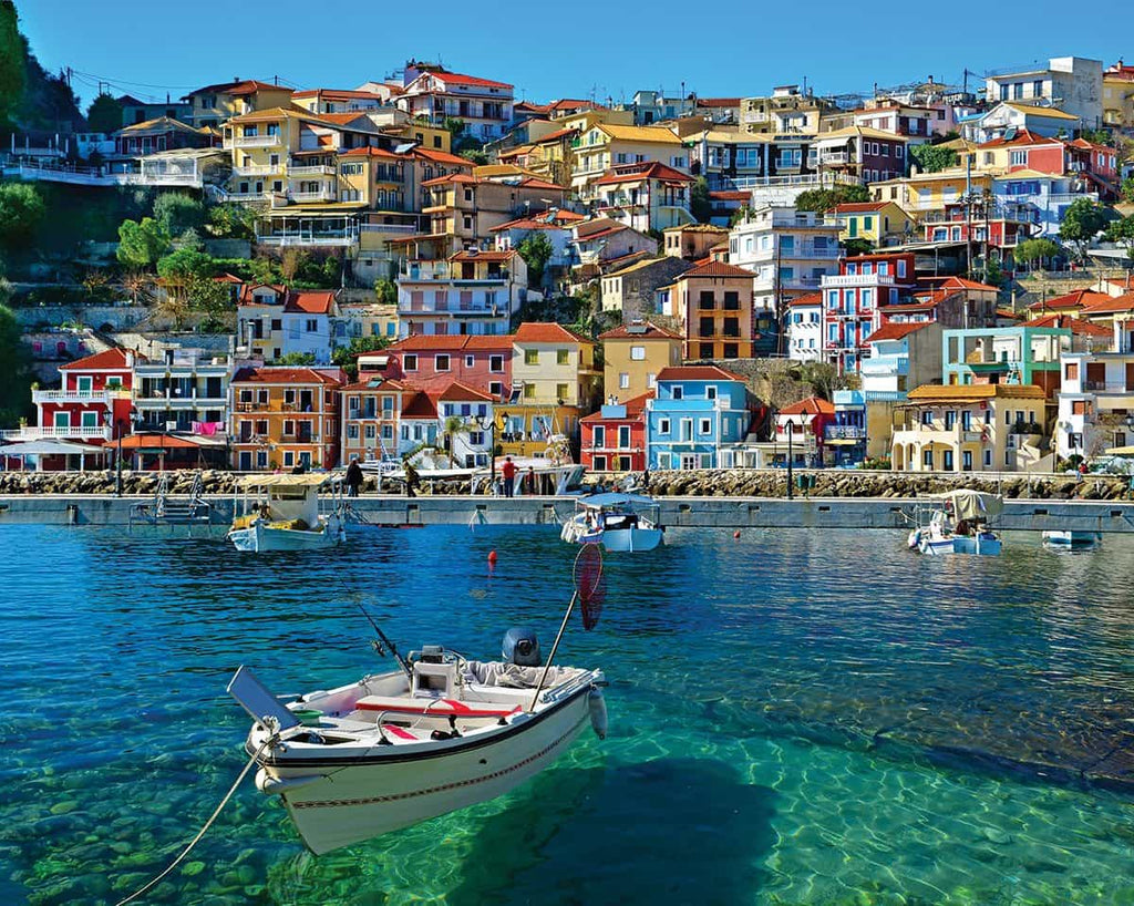Parga Greece (1185pz) - 1000 Piece Jigsaw Puzzle