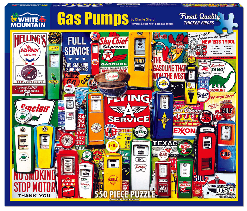 Gas Pumps - DISCONTINUED