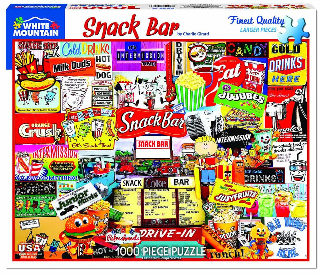 Snack Bar - 1000 Pieces