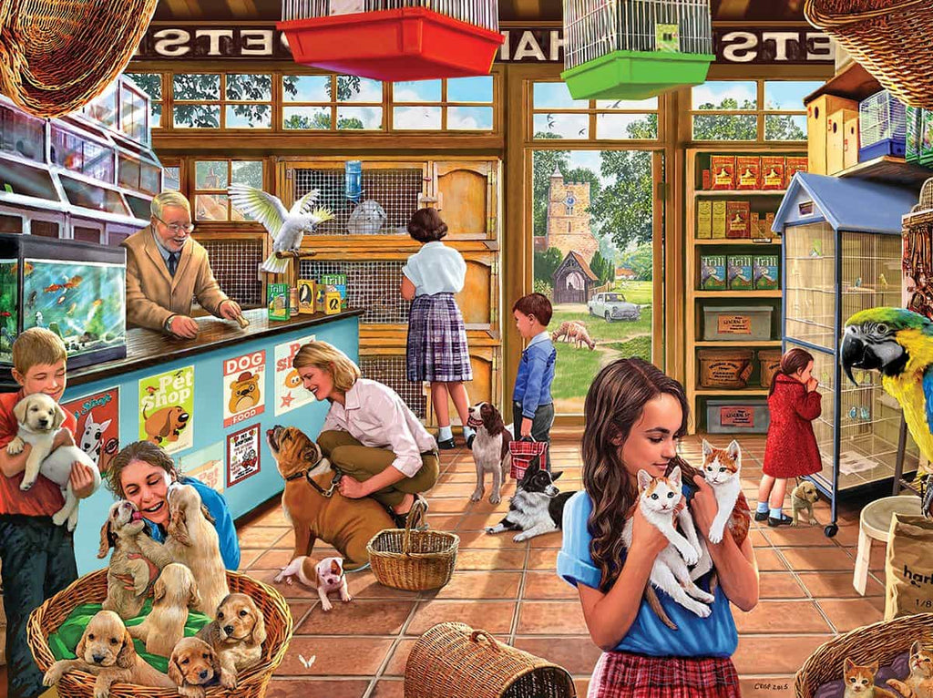 Pet Shop (1204pz) - 1000 Piece Jigsaw Puzzle