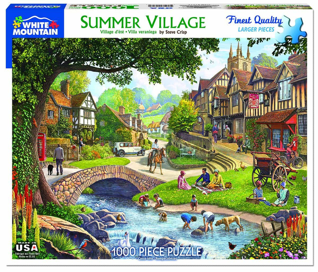 Summer Village (1212pz) - 1000 Pieces