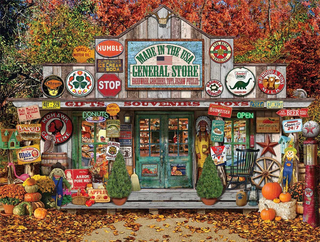 General Store (1217pz) - 1000 Piece Jigsaw Puzzle