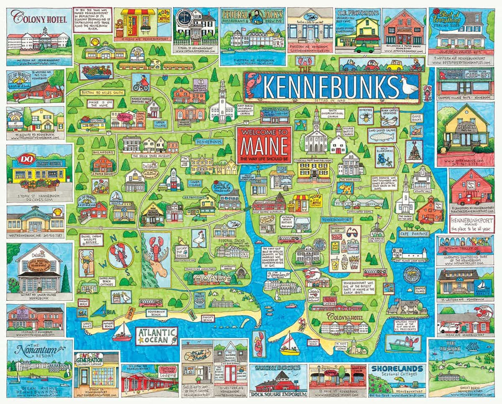 Kennebunk - 1000 Pieces