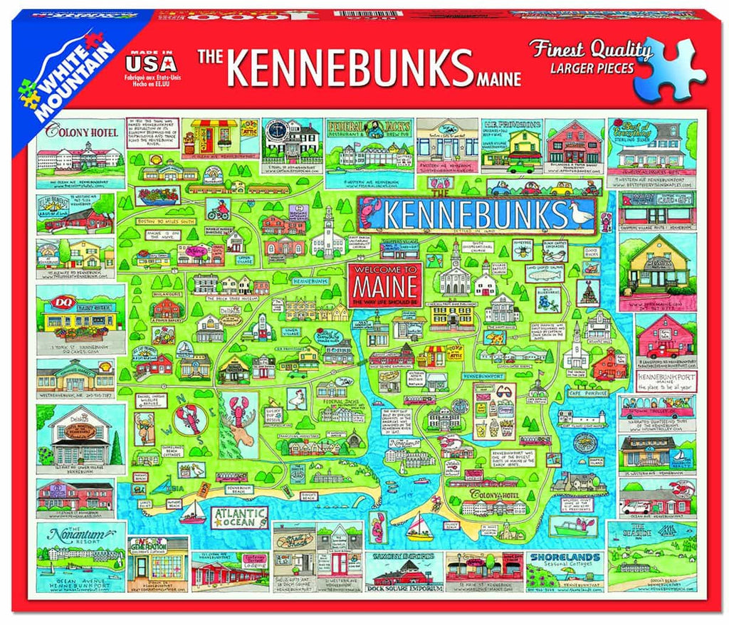 Kennebunk - 1000 Pieces - DISC