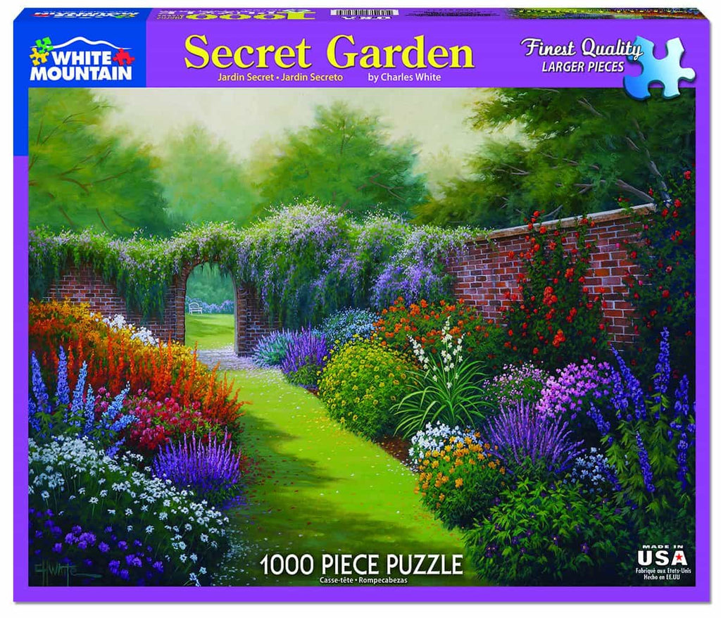Secret Garden - 1000 Pieces - DISC