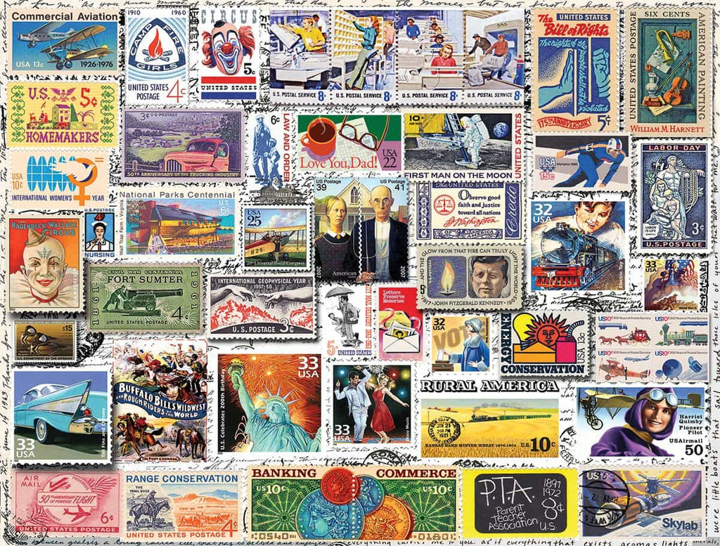 Classic Stamps - 550 Pieces