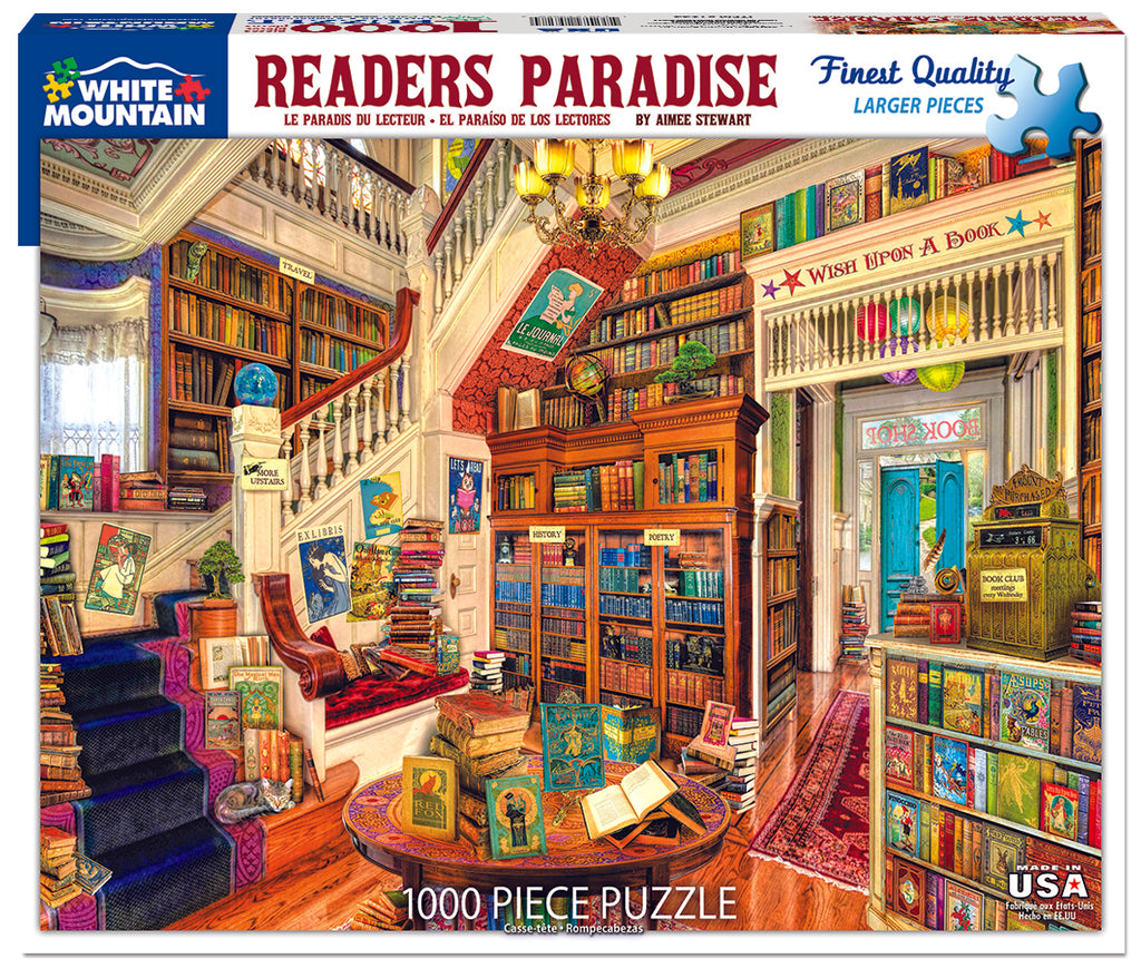 Readers Paradise (1244pz) - 1000 Piece Jigsaw Puzzle