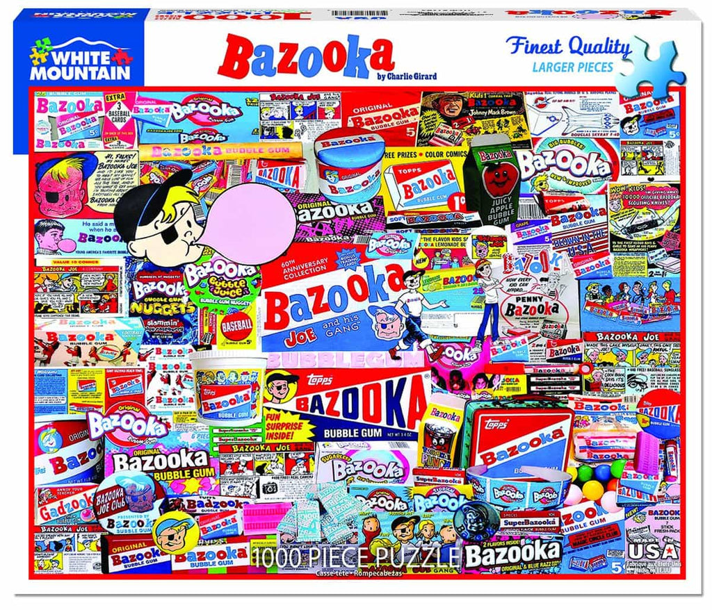 Bazooka - 1000 Pieces - DISC