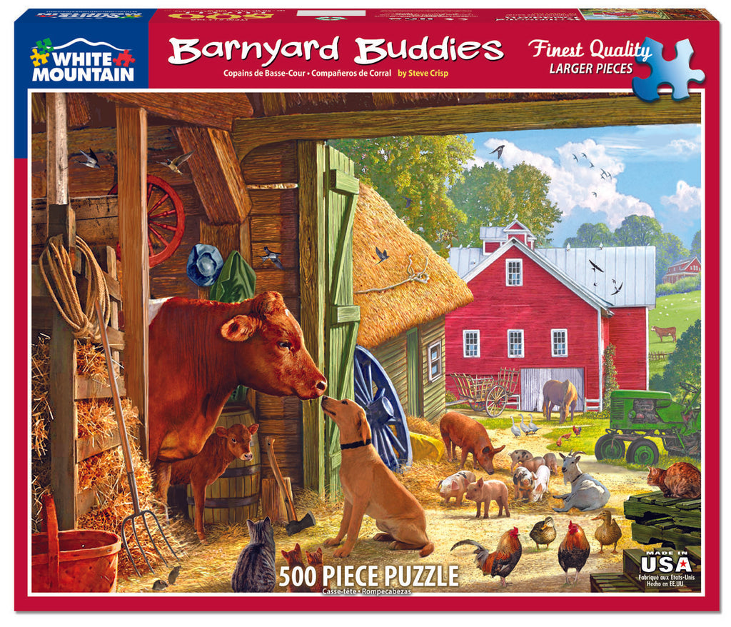 Barnyard Buddies (1254PZ) - 550 Pieces