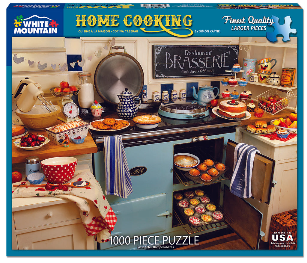 Home Cooking (1260pz) - 1000 Piece Jigsaw Puzzle