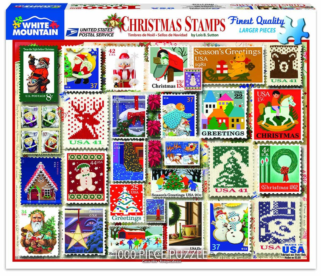 Christmas Stamps - 1000 Pieces