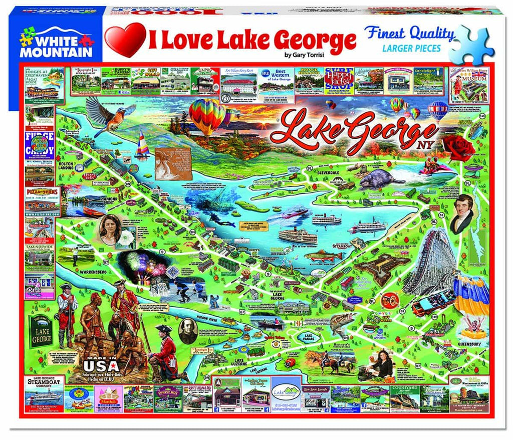 Lake George - 1000 Pieces