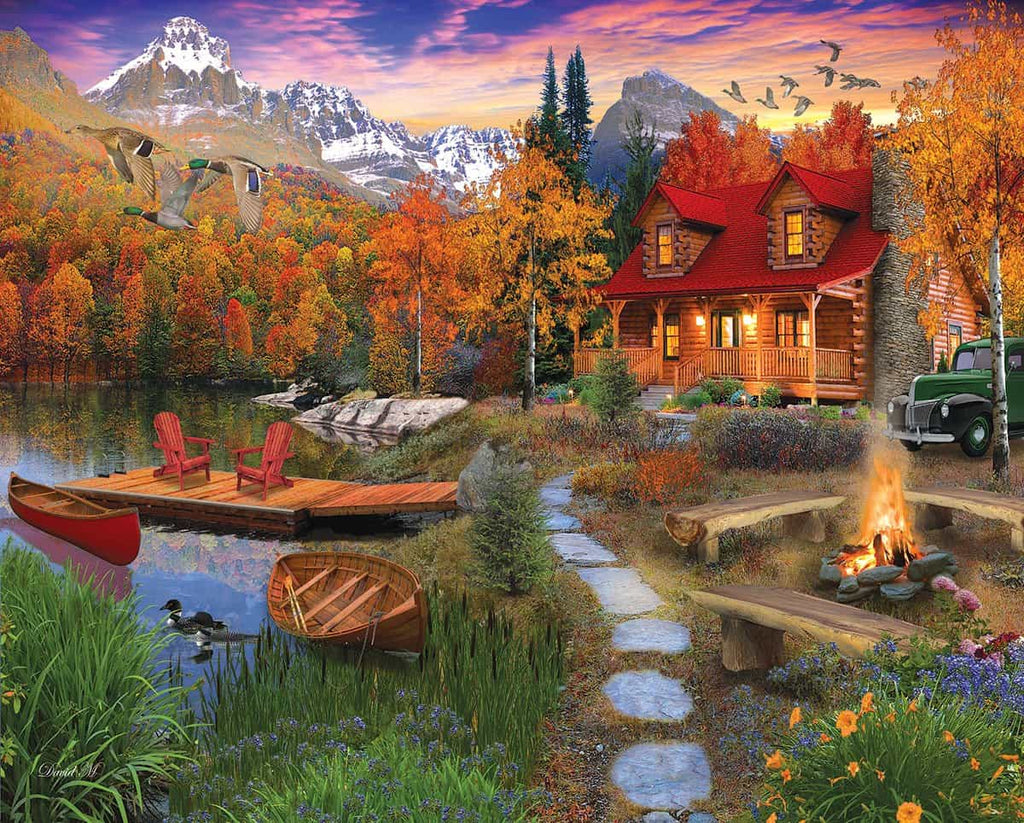 Cozy Cabin (1269pz) - 1000 Pieces