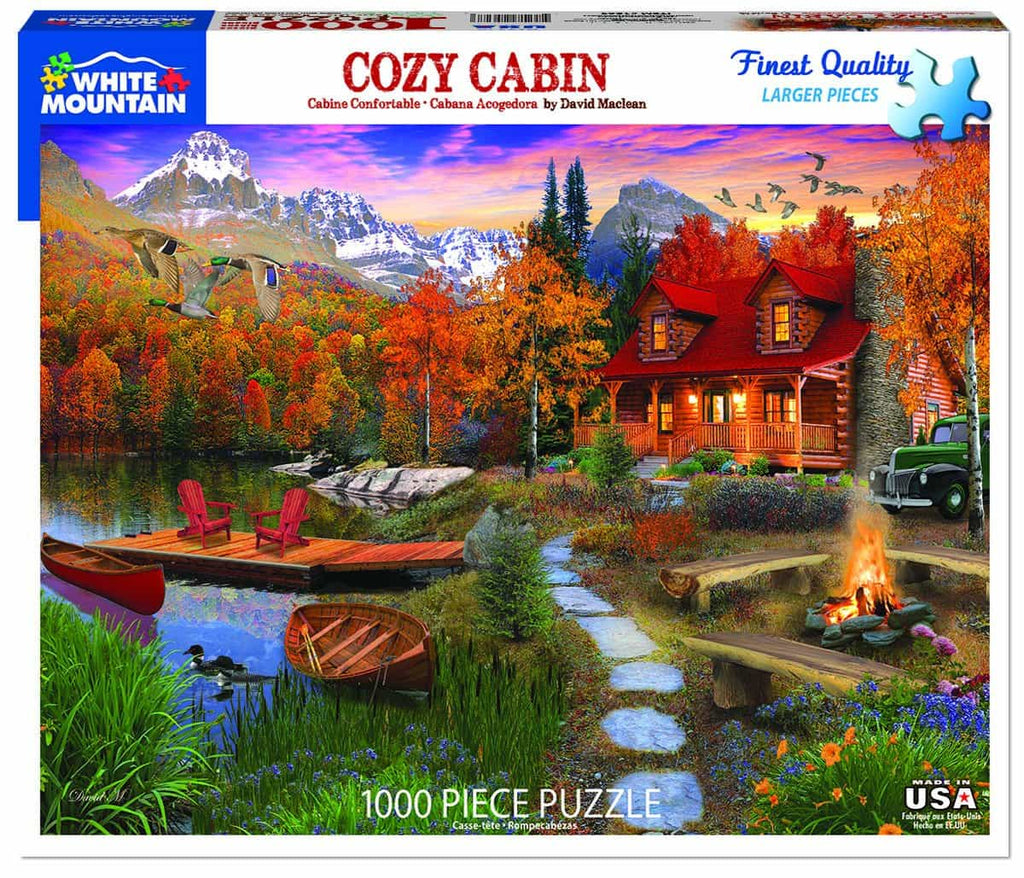 Cozy Cabin - 1000 Pieces