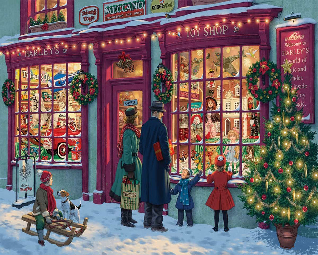 Christmas Toy Shop - 1000 Pieces