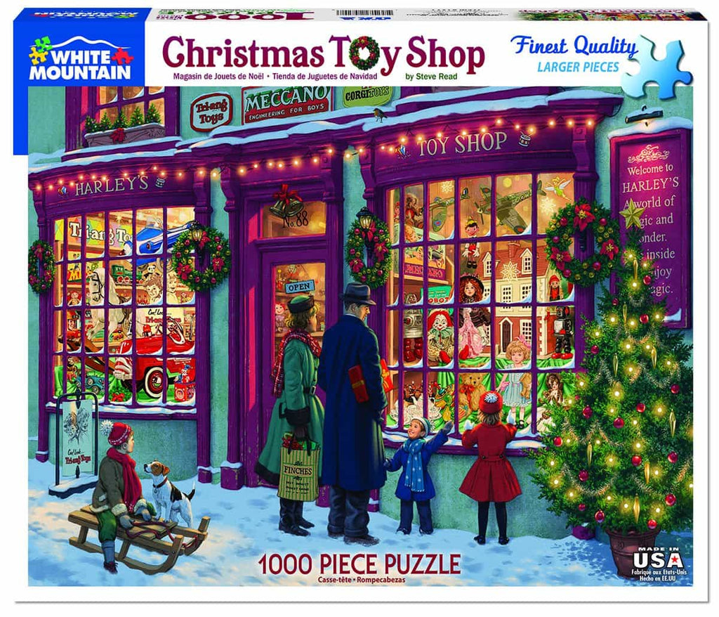 Christmas Toy Shop - 1000 Pieces - DISC