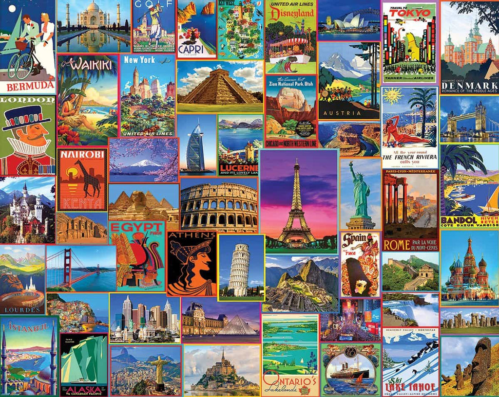Best Places in the World (1272pz) - 1000 Piece Jigsaw Puzzle