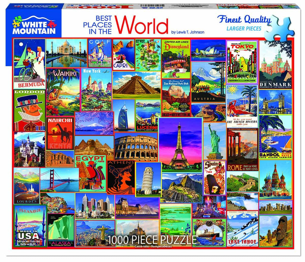 Best Places in the World - 1000 Pieces