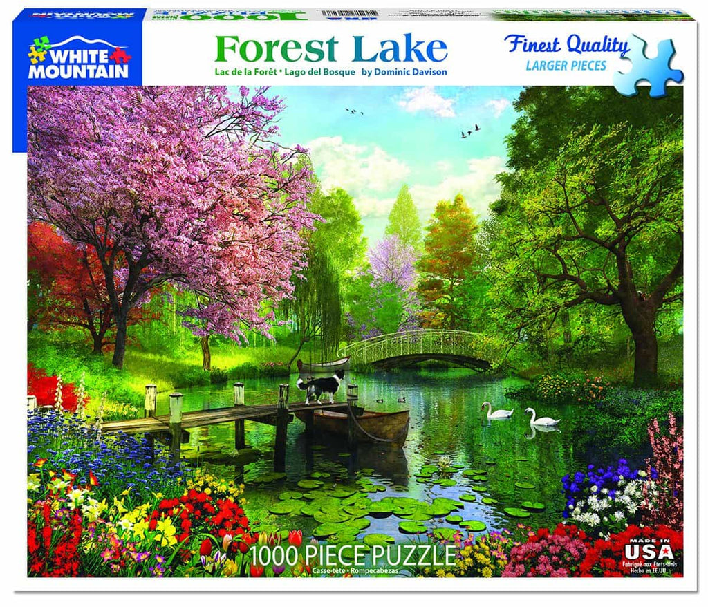 Forest Lake (1274pz) - 1000 Piece Jigsaw Puzzle