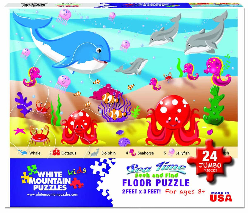 Sea Time Floor Puzzle - 24 Pieces