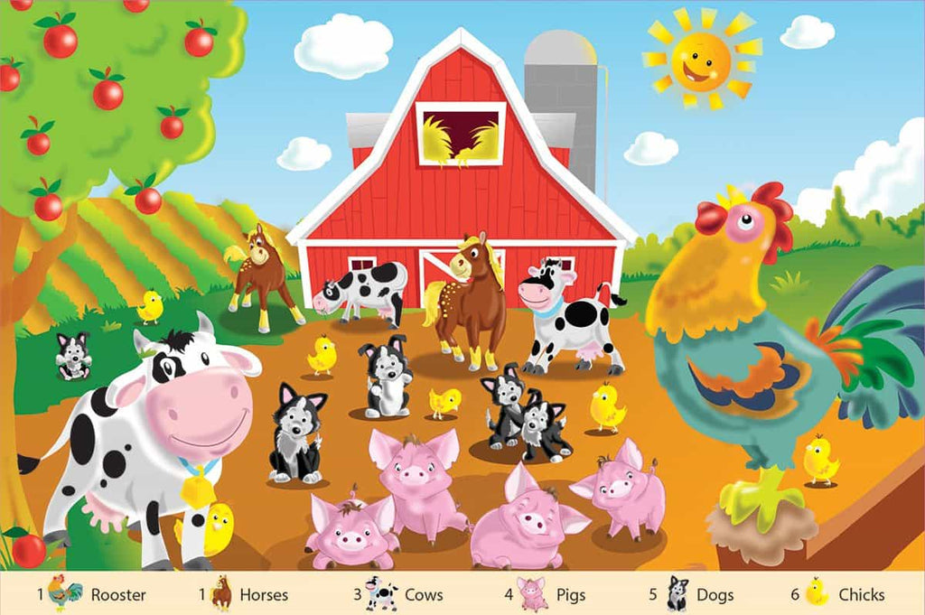 Farm Friends Floor Puzzle - DISCONTINUED