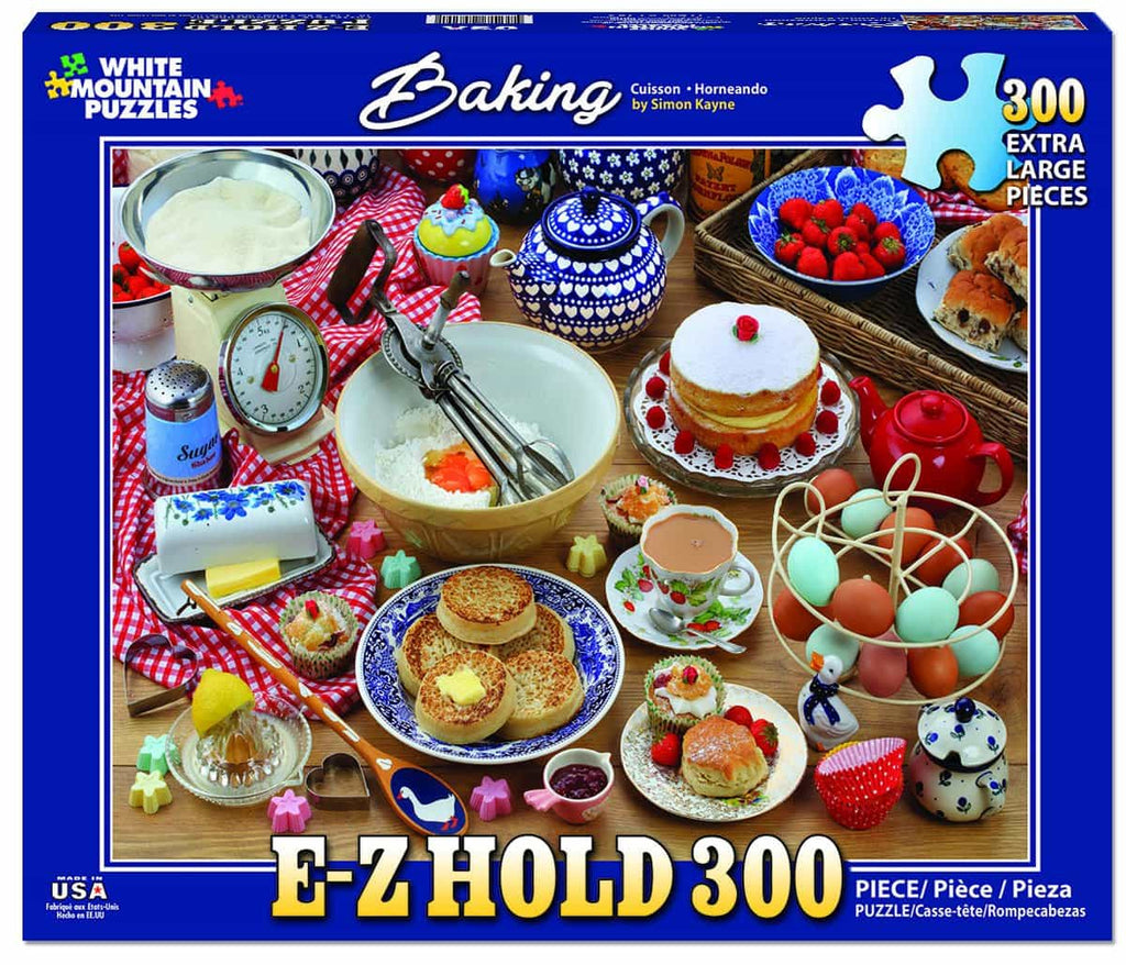 Baking (1283pz) - 300 Piece Jigsaw Puzzle