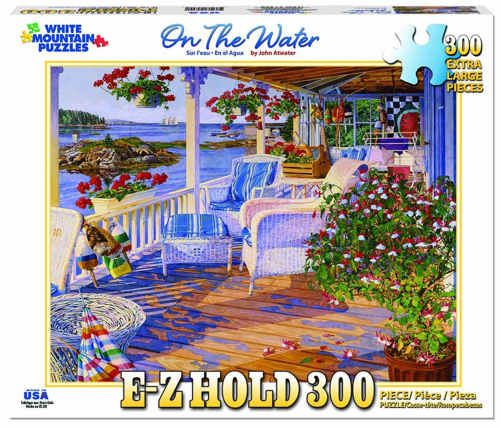 On The Water (1286pz) - 300 Piece Jigsaw Puzzle