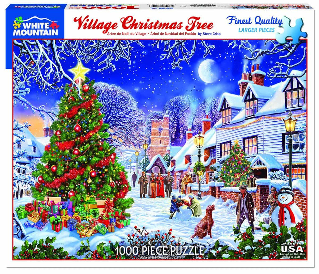 Village Christmas Tree (1287pz) - 1000 Pieces