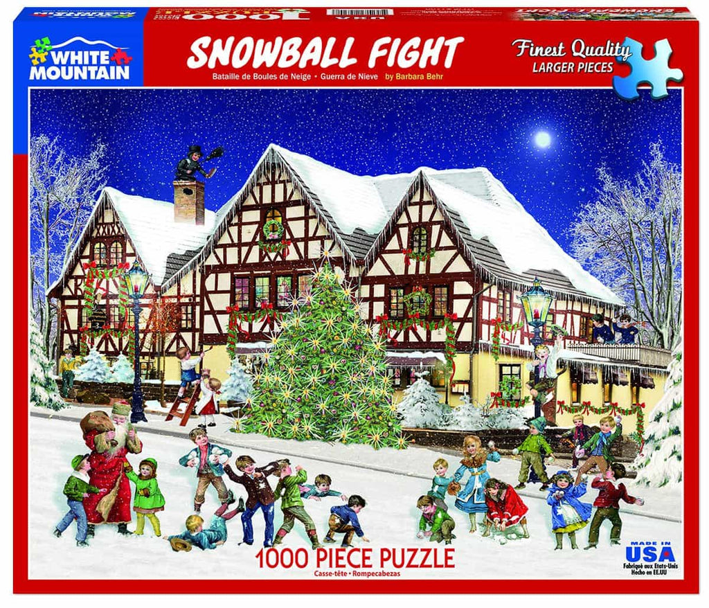 Snowball Fight - 1000 Pieces