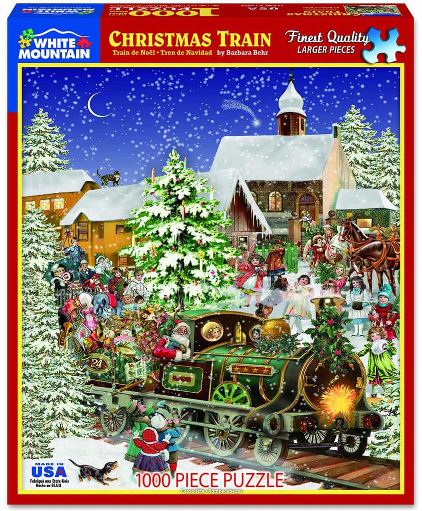Christmas Train - 1000 Pieces - DISC