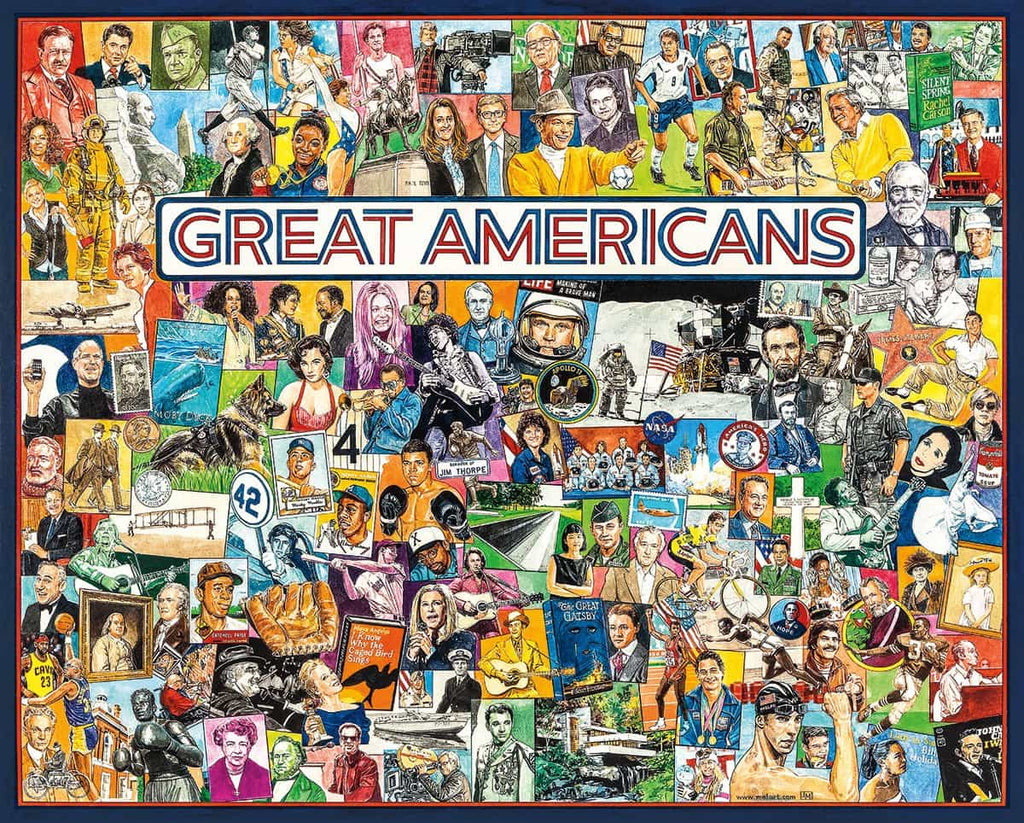 Great Americans - 1000 Pieces - DISCONTINUED