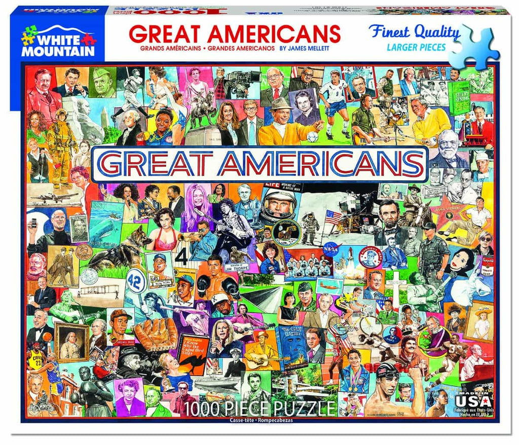 Great Americans - 1000 Pieces
