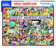 Great Americans James Mellet Puzzle Key