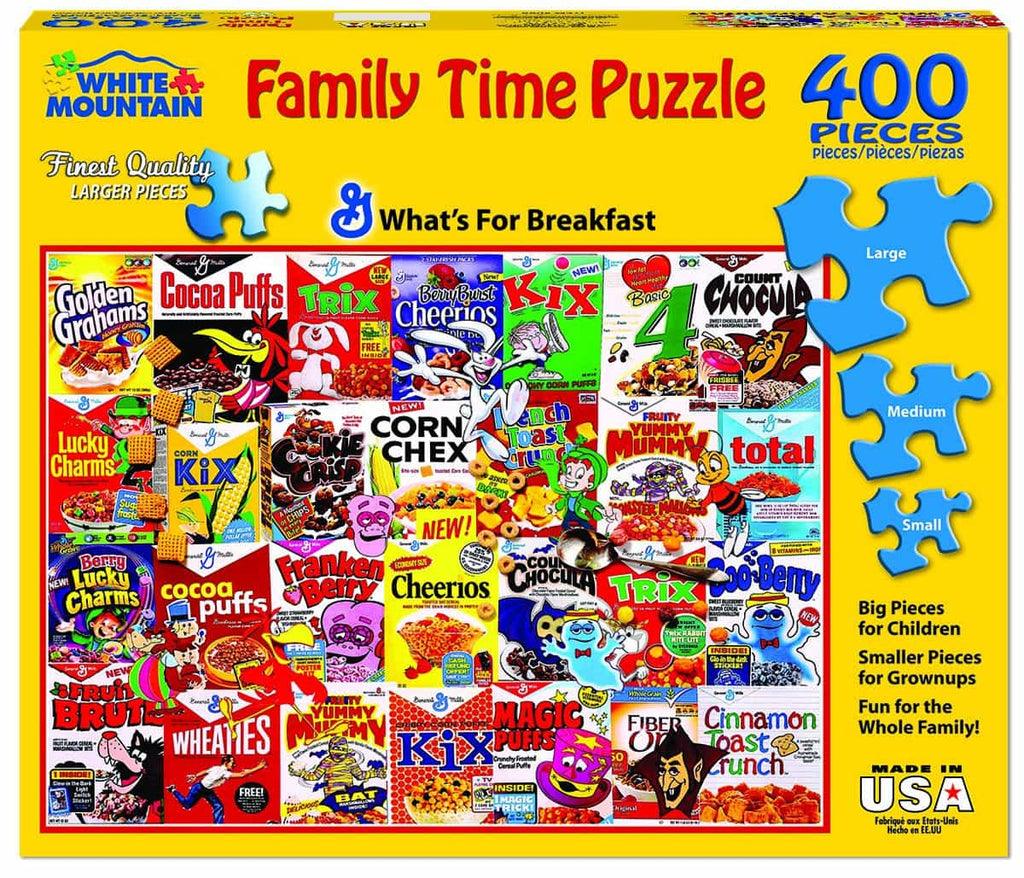What's For Breakfast - 400 Piece Jigsaw Puzzle