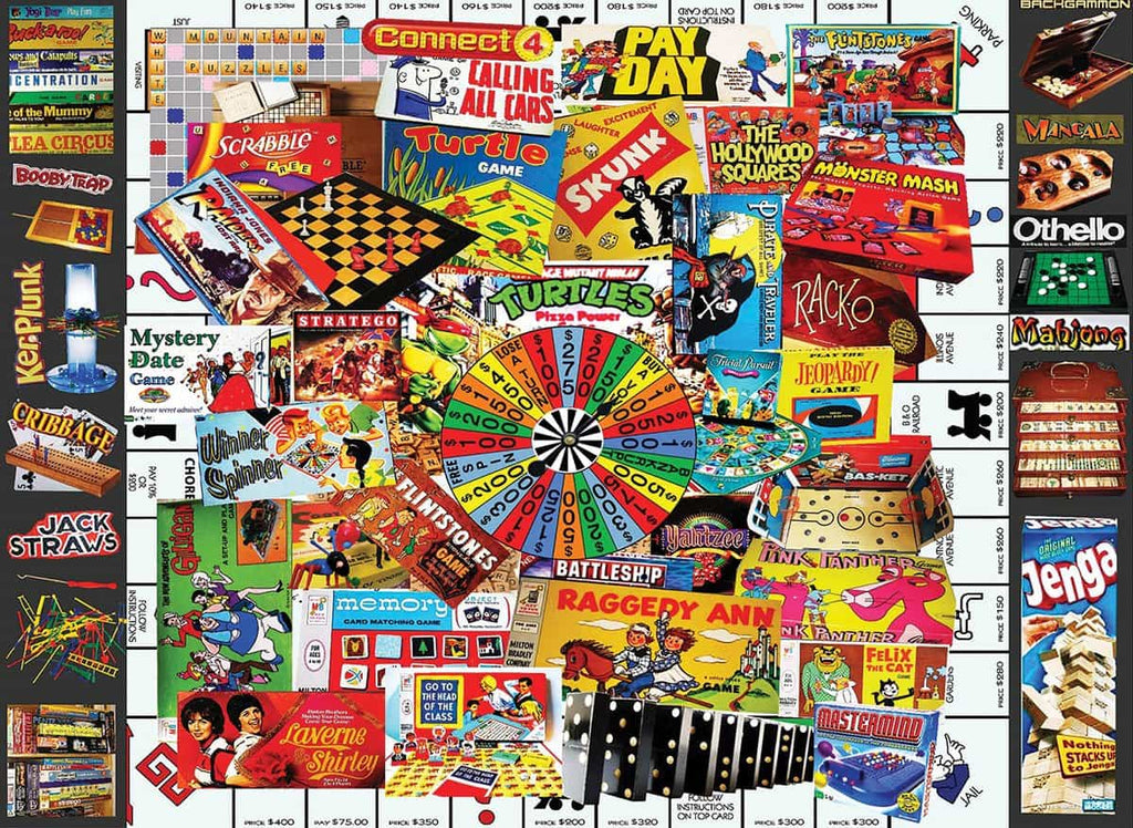 Games We Loved - 400 Piece Jigsaw Puzzle