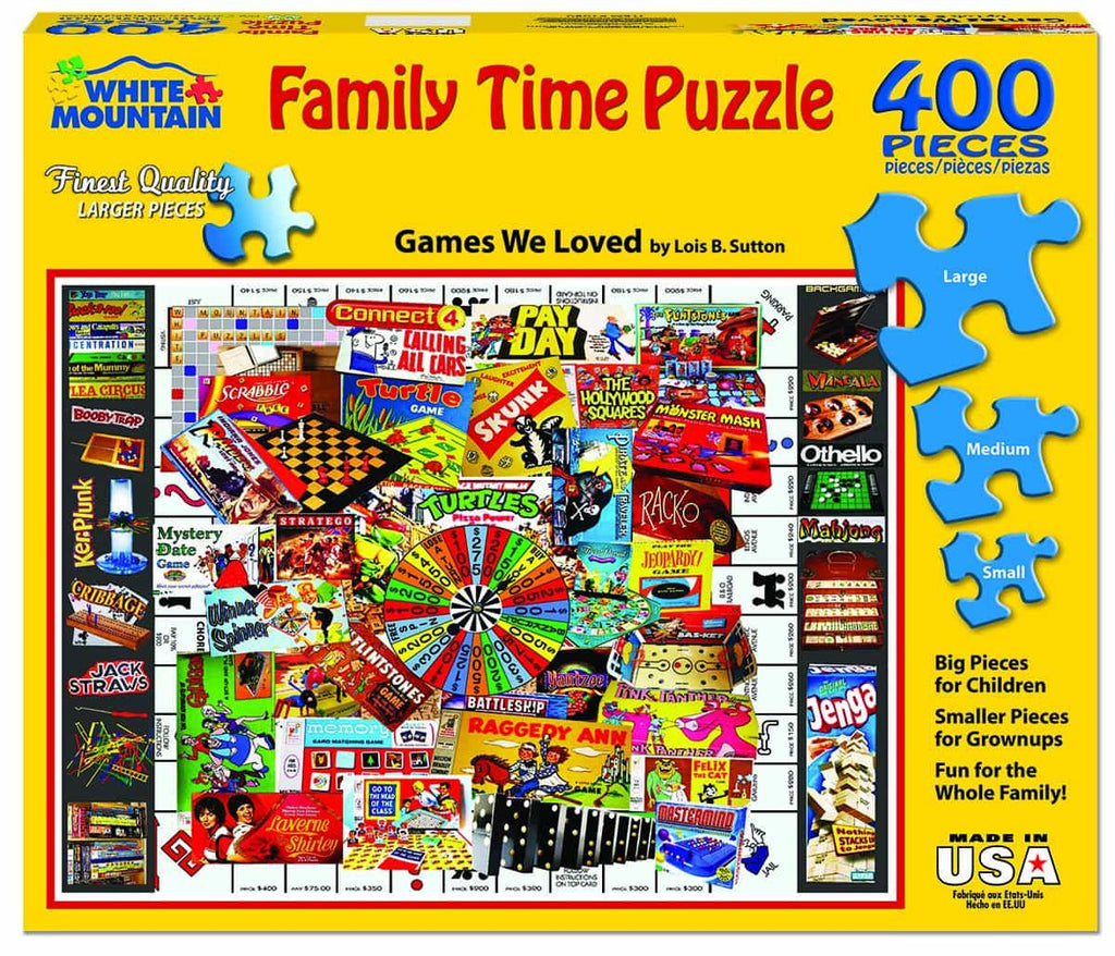 Games We Loved - 400 Pieces