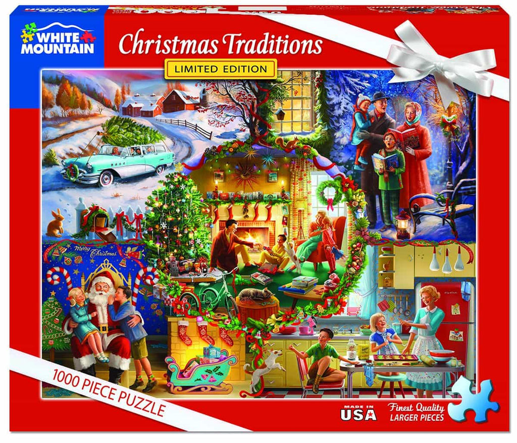 Christmas Traditions (1299pz) - 1000 Piece Jigsaw Puzzle