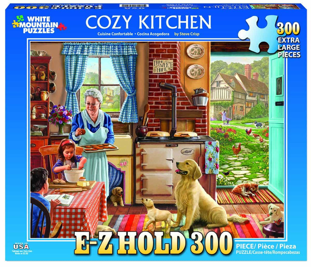 Cozy Kitchen (1300pz) - 300 Piece Jigsaw Puzzle