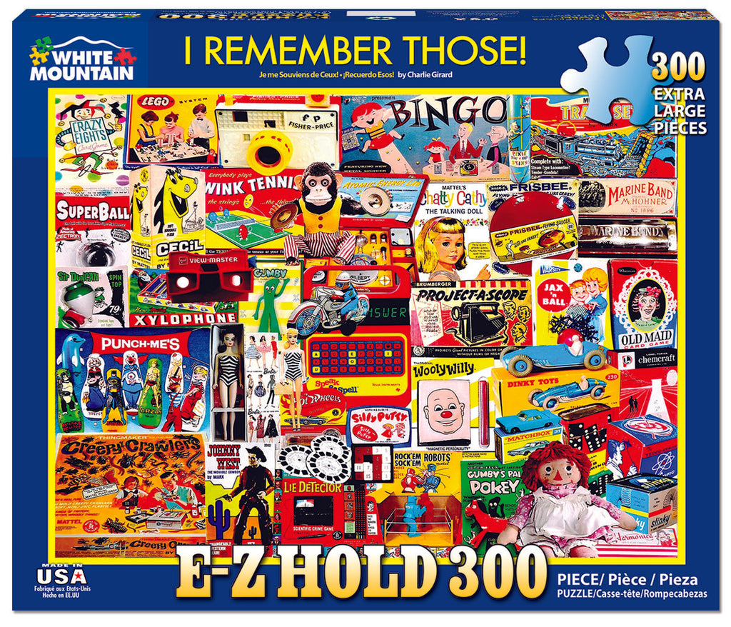 I Remember Those (1303pz) - 300 Piece Jigsaw Puzzle