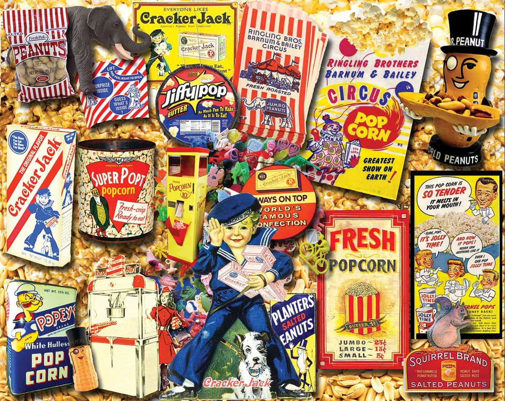 Favorite Snacks - 1000 Pieces - DISC