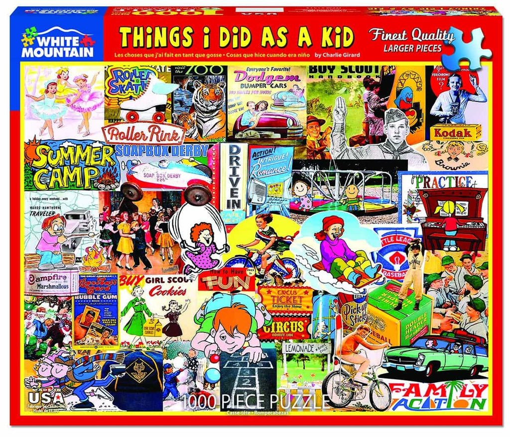 What I Did As A Kid (