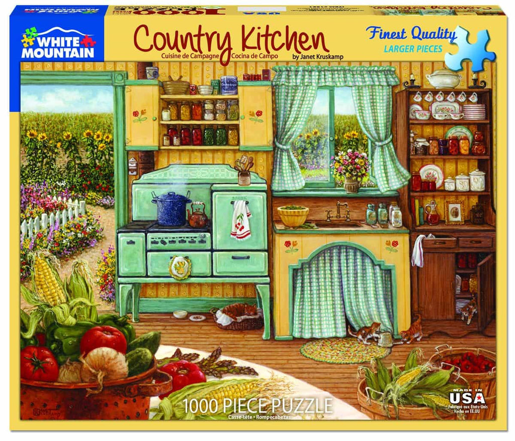 Country Kitchen - 1000 Pieces