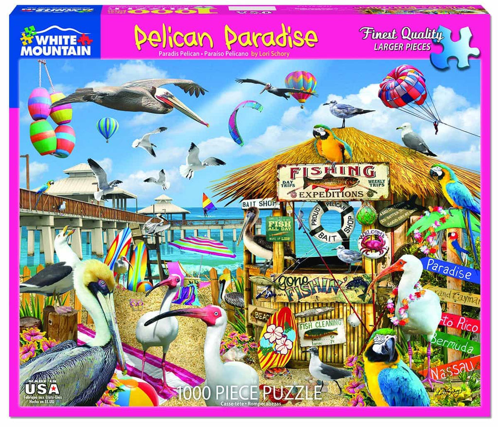 Pelican Paradise - 1000 Pieces