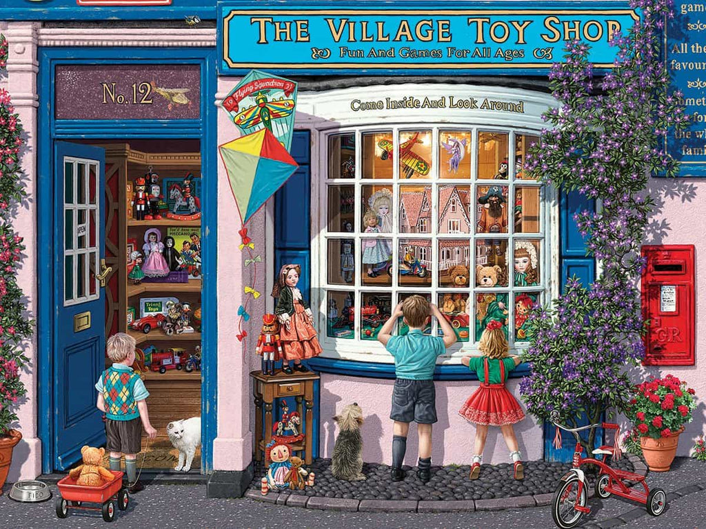 Village Toy Shop (1325pz) - 1000 Piece Jigsaw Puzzle