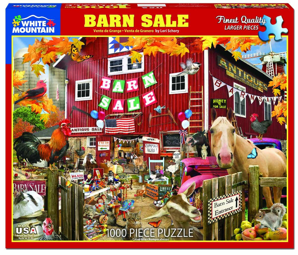 Barn Sale - 1000 Pieces
