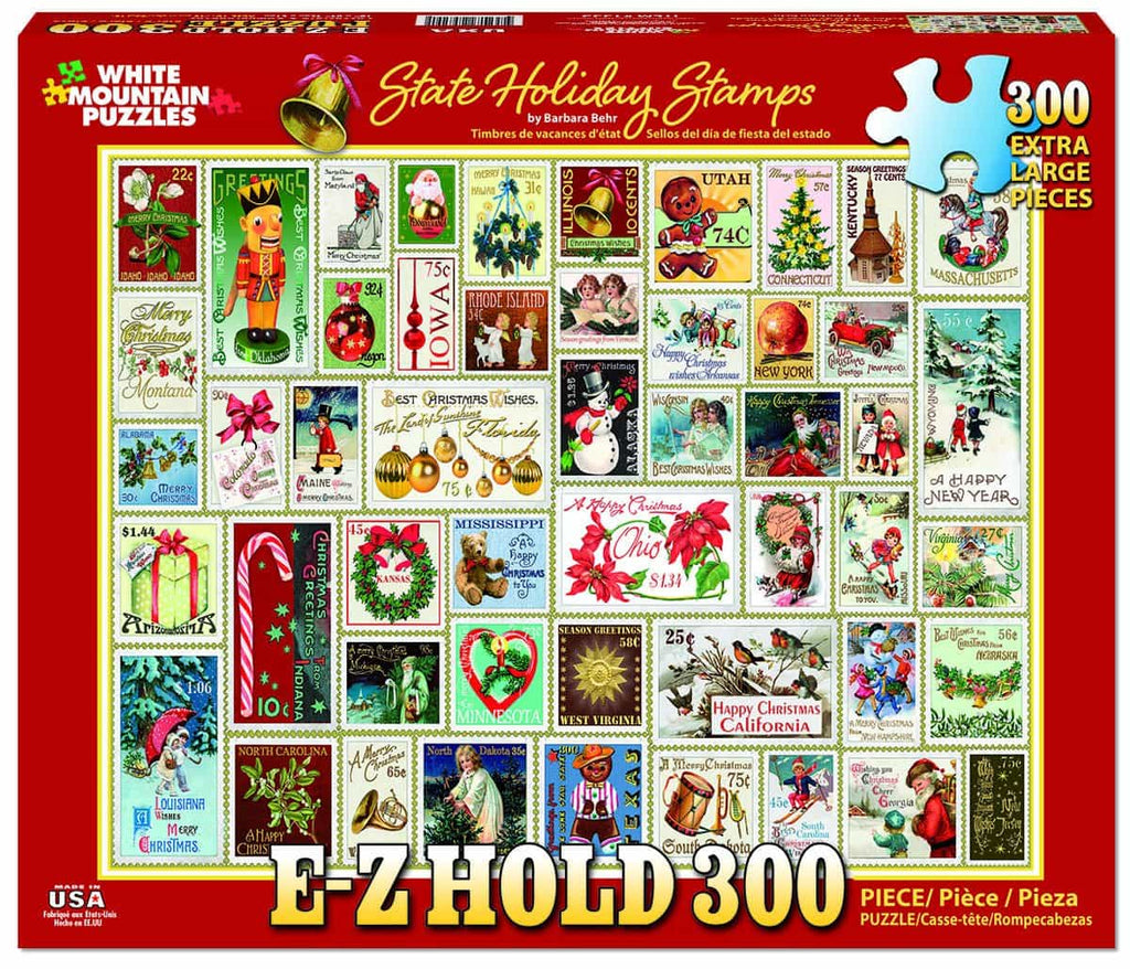 State Holiday Stamps - 300 Pieces